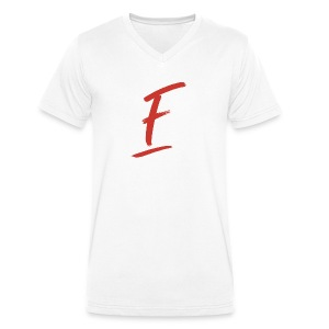 Radio Fugue F Rouge - T-shirt bio col V Stanley & Stella Homme