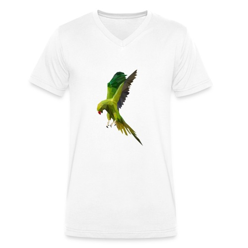 PERROQUET - MINIMALISTE - T-shirt bio col V Stanley & Stella Homme