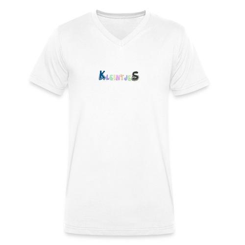 Kleintjes shirts - Mannen bio T-shirt met V-hals van Stanley & Stella