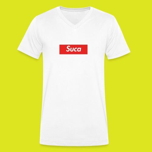 Suca - T-shirt ecologica da uomo con scollo a V di Stanley & Stella