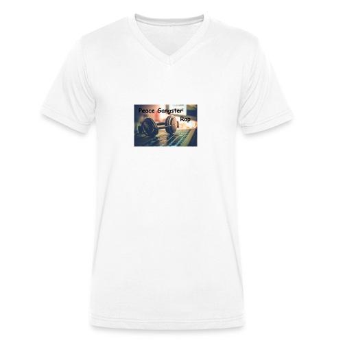 Peace Gangster Rap - Männer Bio-T-Shirt mit V-Ausschnitt von Stanley & Stella