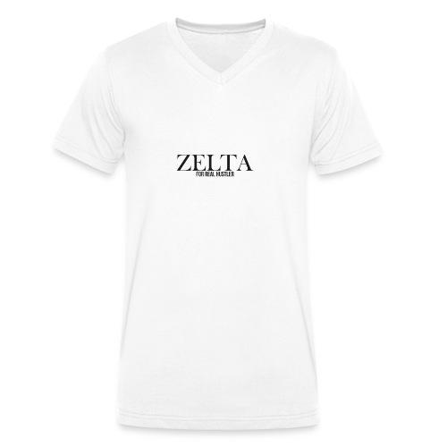 ZELTA - Männer Bio-T-Shirt mit V-Ausschnitt von Stanley & Stella