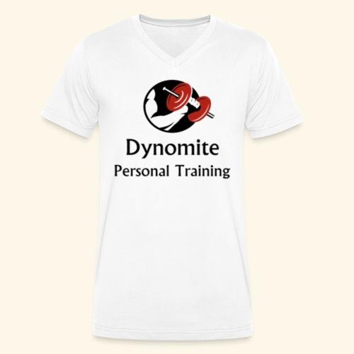 Dynomite Personal Training - Men's Organic V-Neck T-Shirt by Stanley & Stella