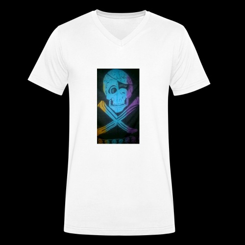WP 20180112 09 47 39 Pro - Männer Bio-T-Shirt mit V-Ausschnitt von Stanley & Stella