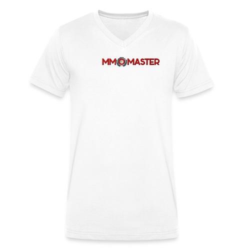 logo mmomaster - Männer Bio-T-Shirt mit V-Ausschnitt von Stanley & Stella