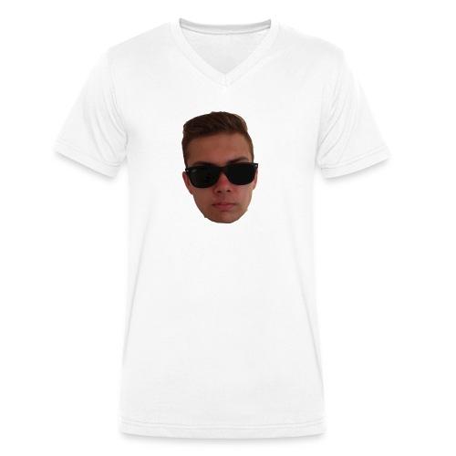 Face Normal diggi - Männer Bio-T-Shirt mit V-Ausschnitt von Stanley & Stella