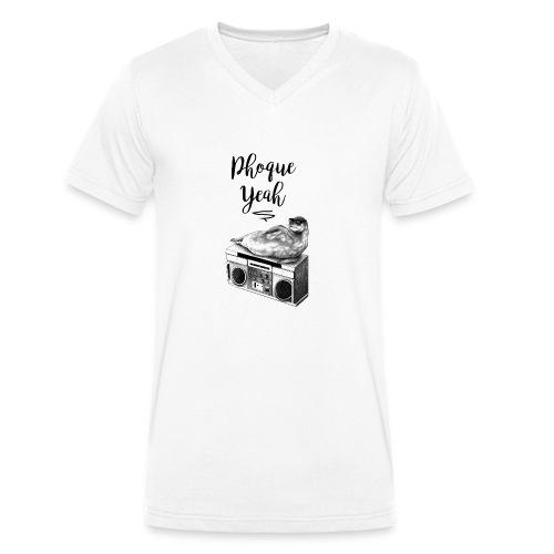 Phoque Yeah - T-shirt bio col V Stanley & Stella Homme
