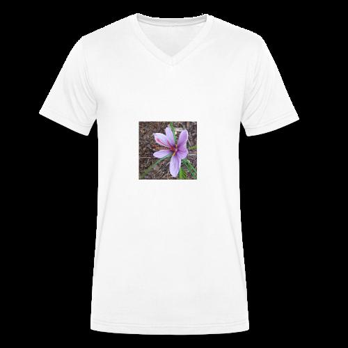 Safran - T-shirt bio col V Stanley & Stella Homme