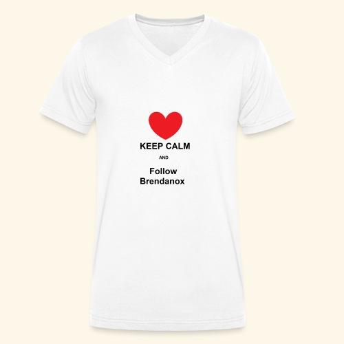 Follow Me - Männer Bio-T-Shirt mit V-Ausschnitt von Stanley & Stella