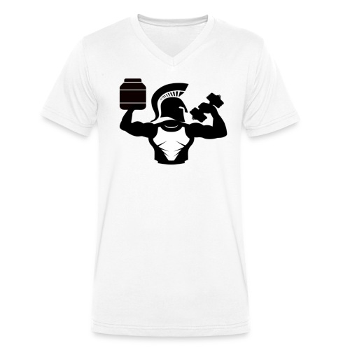SAGN - Ekologisk T-shirt med V-ringning herr från Stanley & Stella
