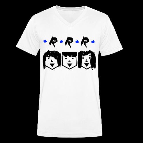 RRR - Heads - Männer Bio-T-Shirt mit V-Ausschnitt von Stanley & Stella