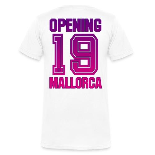 MALLORCA OPENING 2019 - Männer Bio-T-Shirt mit V-Ausschnitt von Stanley & Stella