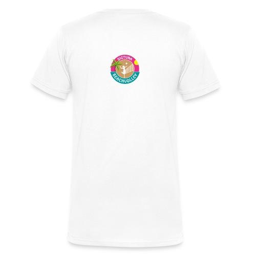 SigtunaBeachvolley - Ekologisk T-shirt med V-ringning herr från Stanley & Stella