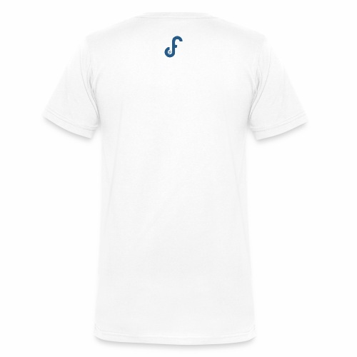 Original FPL Journal Logo - Men's Organic V-Neck T-Shirt by Stanley & Stella