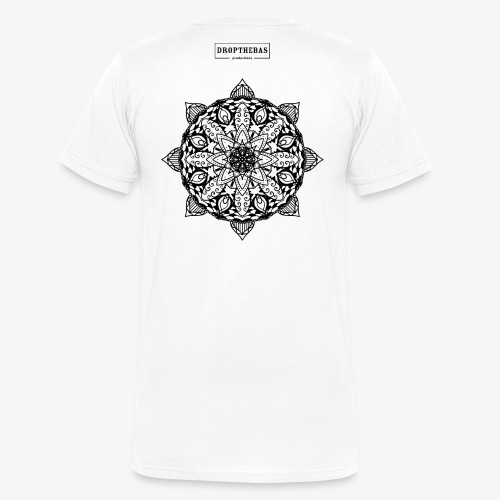mandala - Mannen bio T-shirt met V-hals van Stanley & Stella