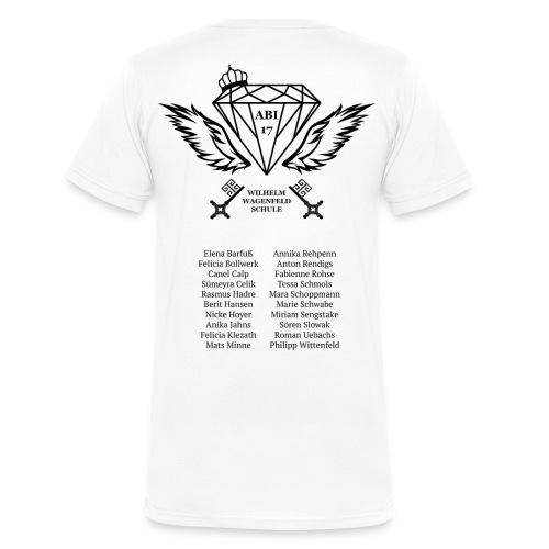 14C abishirt - Männer Bio-T-Shirt mit V-Ausschnitt von Stanley & Stella