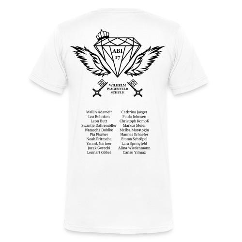 14A abishirt - Männer Bio-T-Shirt mit V-Ausschnitt von Stanley & Stella