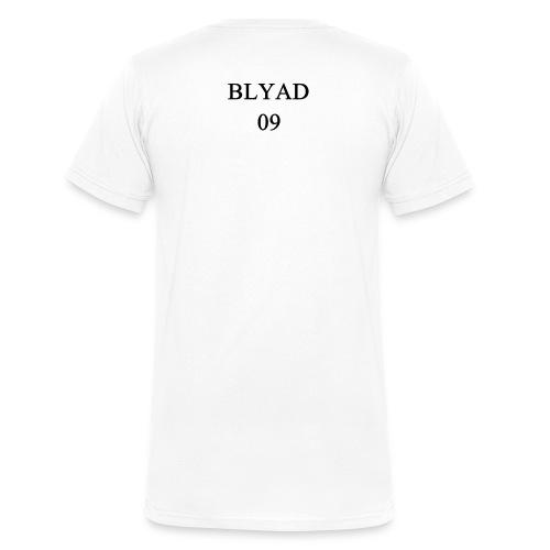 Blyad 09 Black - Männer Bio-T-Shirt mit V-Ausschnitt von Stanley & Stella