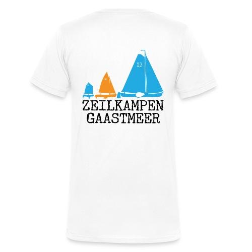 ZKG Zwart - Mannen bio T-shirt met V-hals van Stanley & Stella