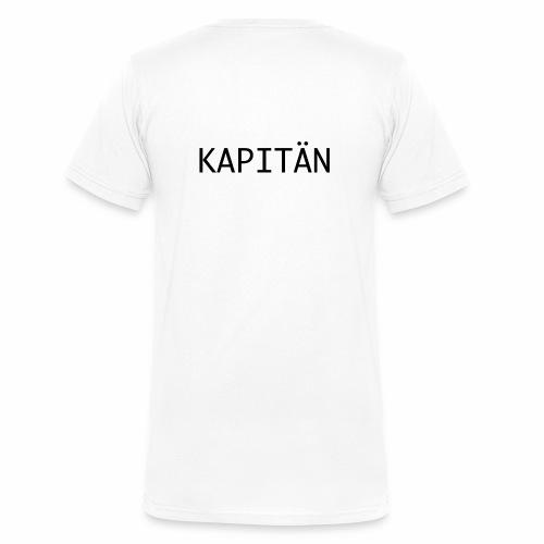 Kapitän - Männer Bio-T-Shirt mit V-Ausschnitt von Stanley & Stella