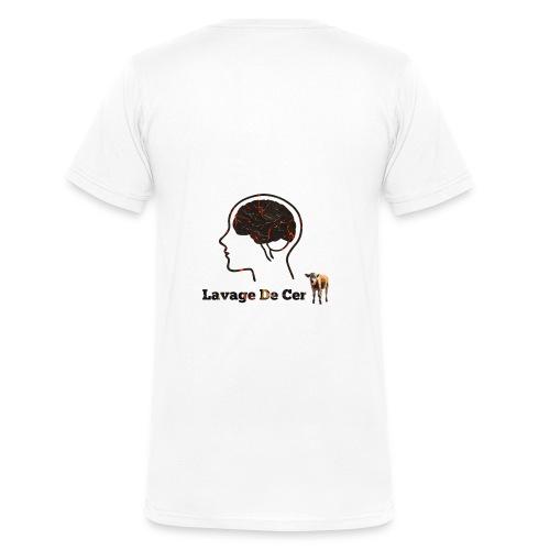 Lavage de cerveau - T-shirt bio col V Stanley & Stella Homme