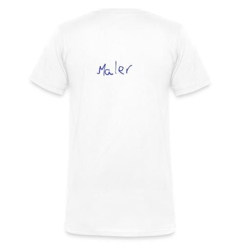 Maler - Männer Bio-T-Shirt mit V-Ausschnitt von Stanley & Stella