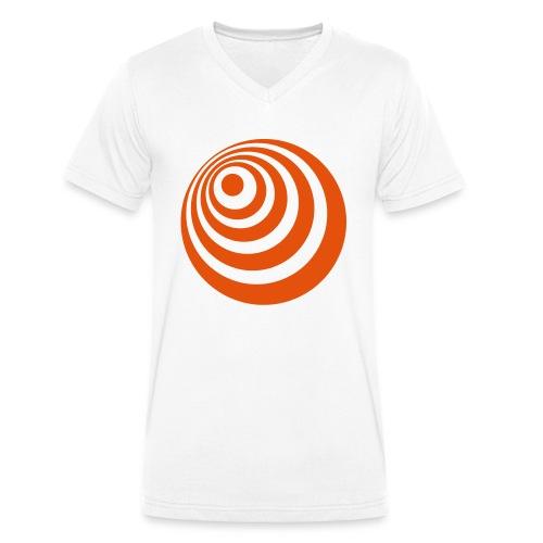 trompete spreadshirt - Männer Bio-T-Shirt mit V-Ausschnitt von Stanley & Stella