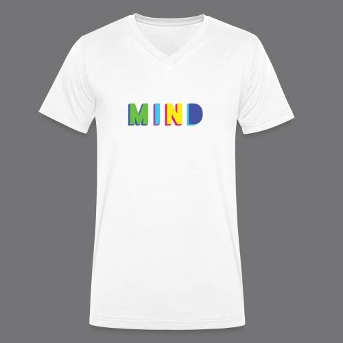 MIND Tee Shirts - Men's Organic V-Neck T-Shirt by Stanley & Stella