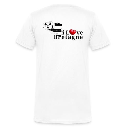 ilovebretagnecompact - T-shirt bio col V Stanley & Stella Homme