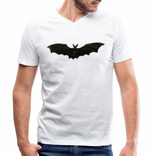 Fliegende Fledermaus - Männer Bio-T-Shirt mit V-Ausschnitt von Stanley & Stella