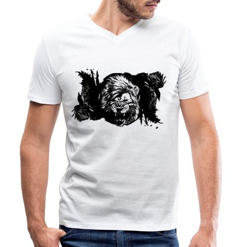Raven & lion - T-shirt bio col V Stanley & Stella Homme