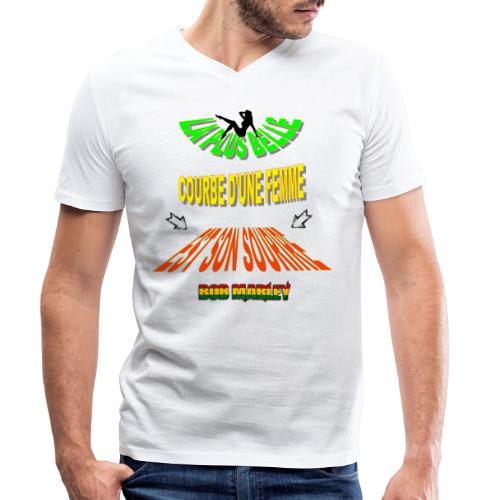 LA PLUS BELLE 👩👍 - T-shirt bio col V Stanley & Stella Homme