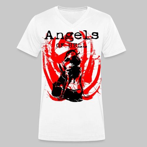2reborn ANGELS OF HELL sexy Girls bl - Männer Bio-T-Shirt mit V-Ausschnitt von Stanley & Stella