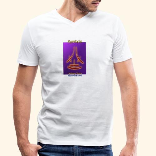 Neftsoy Mayra - Männer Bio-T-Shirt mit V-Ausschnitt von Stanley & Stella