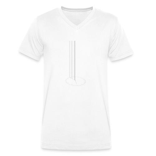 Interstellar_STAY - Männer Bio-T-Shirt mit V-Ausschnitt von Stanley & Stella