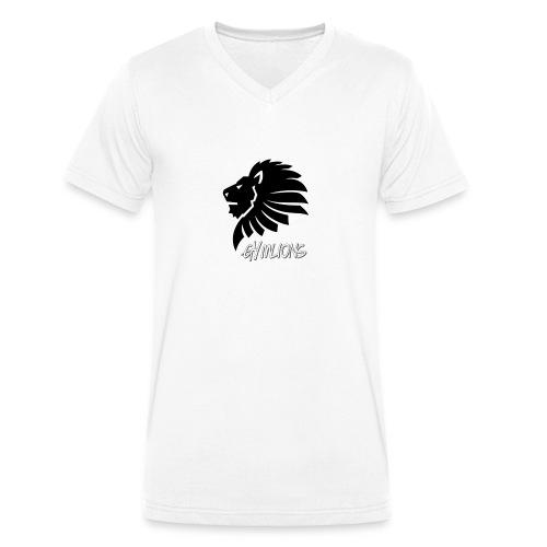 Gymlions T-Shirt - Männer Bio-T-Shirt mit V-Ausschnitt von Stanley & Stella