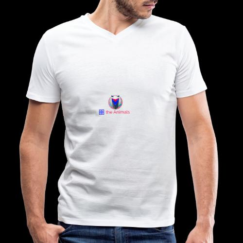 Safe the Animals Kollektion - Men's Organic V-Neck T-Shirt by Stanley & Stella