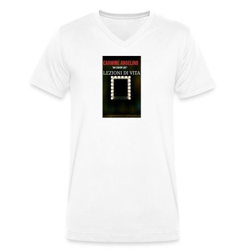 2017 07 22 03 08 59 - T-shirt ecologica da uomo con scollo a V di Stanley & Stella