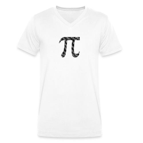 Pi Used - Männer Bio-T-Shirt mit V-Ausschnitt von Stanley & Stella
