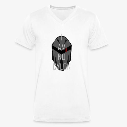 I am not a Cylon - Økologisk T-skjorte med V-hals for menn fra Stanley & Stella