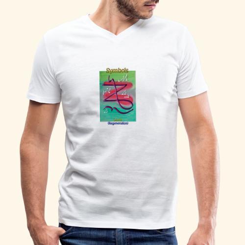 Zeniel - Männer Bio-T-Shirt mit V-Ausschnitt von Stanley & Stella