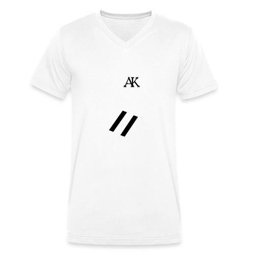 design tee - Mannen bio T-shirt met V-hals van Stanley & Stella