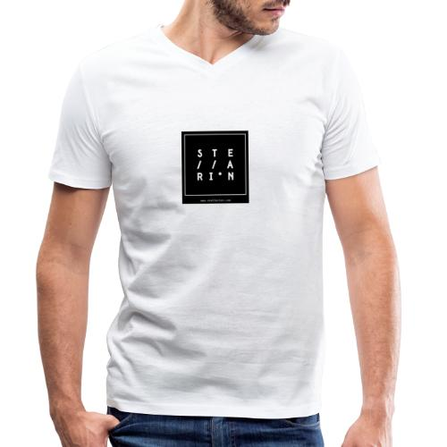 Stellarion (label logo) - T-shirt bio col V Stanley & Stella Homme