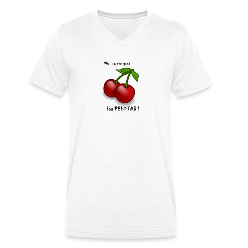 Ne me casse pas les C... - T-shirt bio col V Stanley & Stella Homme