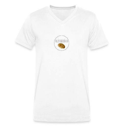 ElthoroHD trøje - Økologisk Stanley & Stella T-shirt med V-udskæring til herrer