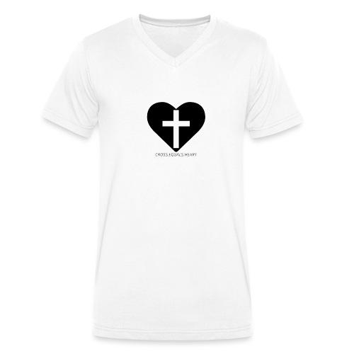CEH black png - Ekologisk T-shirt med V-ringning herr från Stanley & Stella