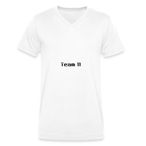 Team 11 - Men's Organic V-Neck T-Shirt by Stanley & Stella