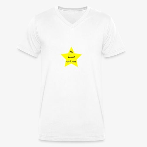 Du kannst mich mal - Männer Bio-T-Shirt mit V-Ausschnitt von Stanley & Stella