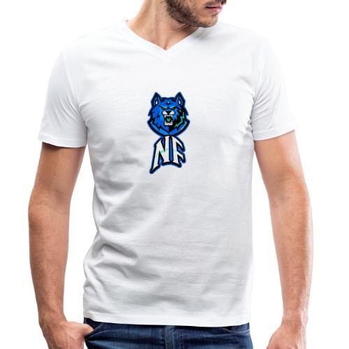 Noah Fortes logo - Mannen bio T-shirt met V-hals van Stanley & Stella