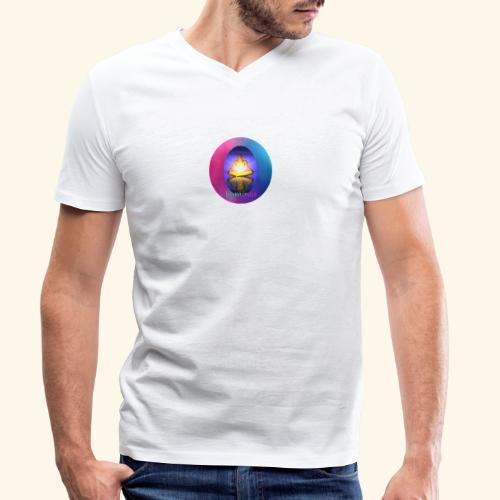 Luminus - Männer Bio-T-Shirt mit V-Ausschnitt von Stanley & Stella